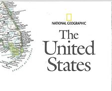 NATIONAL GEOGRAPHIC MAP - THE UNITED STATES - October 2006