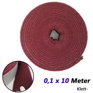 0,1 x 10 Meter Schleifvlies Poliervlies Klett- Schleifpapier Rolle Schleifblätte