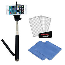 Selfie Stick for iPhone 6 plus 5s 5c 5 & Samsung Galaxy S6 S5 S4 S3 +Accessories