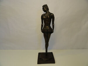 MANOLO PASCUAL BRONZE SCULPTURE BALLERINA #2/12 SIGNED AND NUMBERED ZC4-14