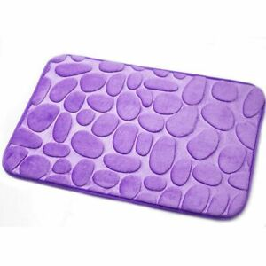 Bath Mats Non-slip Bathroom Mats Rug Home Floor Toilet Water Absorption Carpets