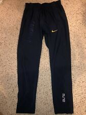 New Nike Elite Cal Bears Mens Basketball Tearaway Snap Warmup Pants Xl