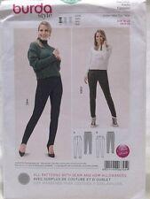 Burda Pattern 6745 Sizes 6-20 Misses Pants Uncut Germany