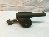"VINTAGE PREMIER USA BIG BANG CAST IRON CANNON 1100X20 TIRES 3"" X 9"""
