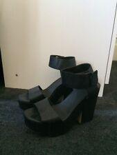 H&M Black Platform Heels Euro Size 40