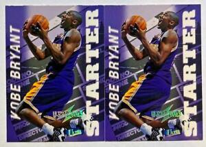LOT OF 2: Kobe Bryant 1997-98 Fleer Ultra Ultrabilities Starter Insert LAKERS