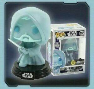 Funko Pop Star Wars Obi Wan Kenobi Glow In The Dark LE 3000 - Ready to Ship!
