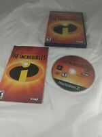 Incredibles Sony PlayStation 2 PS2 complete CIB Disney Pixar