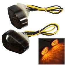 Smoke LED Flush Mount Turn Signal Blinker Marker Yamaha YZF R6 99 2000 2001 2002