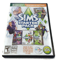 The Sims 3 Starter Pack PC DVD-ROM Game Late Night Expansion High End Loft Stuff