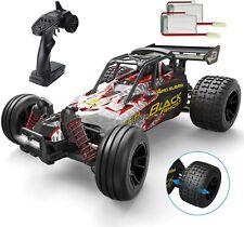 DEERC RC Auto Spielzeug mit 1:18 2,4 Ghz Fernbedienung Monster Truck für Kinder
