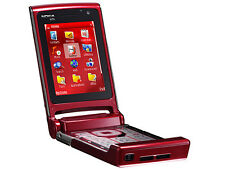 Nokia N76 Rot (Ohne Simlock) 3G 4BAND 2,0MP MP3 Radio Orig. Finland Neuwertig