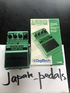 DigiTech Synth Wah Guitar Effect Pedal FROM JAPAN JP USED GOOD WORKINGS VINTAGE