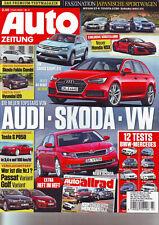 auto zeitung 3/2015 Tesla S P85D/Nissan GT-R/Toyota GT86/Subaru WRX STI/Allrad