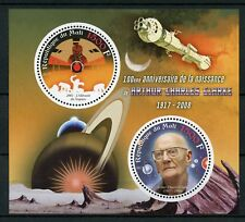 Mali 2017 MNH Arthur C Clarke Science Fiction Writers 2v M/S Space Stamps
