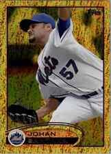 2012 Topps Series 2 Johan Santana Gold Shimmer New York Mets #479