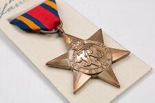 WW2 Britannique & Commonwealth Allied Forces Burma Star Médaille Armée Raf