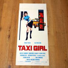 TAXI GIRL  locandina poster Fenech Hilton Maccione 1977 q51