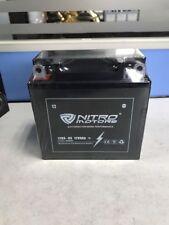 Nitro Motors Blei Gel Akku 12N9-BS 12V 9Ah Motorradbatterie Roller Quad Atv