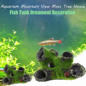 Branches Mountain View Aquarium Decoration Resin Ornament Fish Tank Accessories