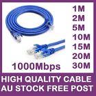Ethernet Network Lan Cable 10/100/1000Mbps Compatible 1m 2m 5m 10m 15m 20m 30m