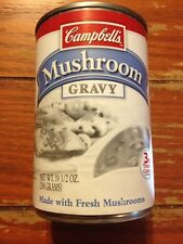 Collectible Missing Color Label Campbells Mushroom Gravy Can Printing Error