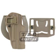 CQC Serpa Concealment Right Hand Waist Pistol / Gun Holster for Colt 1911 M1911