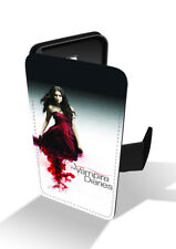 The Vampire Diaries Elena Gilbert Nina Dobrev Wallet Leather Phone Case Cover