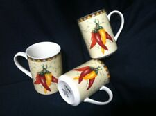American Atelier CHILI PEPPERS Mug Set Of 3