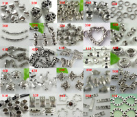 Lot Metal Tibetan Silver Charm Spacer Beads Jewelry Finding ~Lot Size Styles~