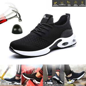 Chaussures De Sécurité Travail Pour Air Respirant Hommes Femmes à Bout D'acier