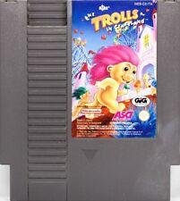 Nintendo NES: The Trolls In Crazyland -Pal A-