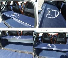 Smart ForTwo Parcel Shelf Cover and Supporting Rods for all 450 Models - Blue