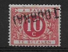 Belgium - Postage Due - 1919 - COB 13A - Surcharged TOURNAI - MH -