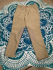 Devon Aire 30L Riding Breeches Tan Ribbed 4H Pony Club Lessons