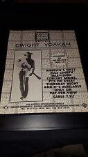 Dwight Yoakam Concert Pay Per View Rare Original Promo Poster Ad Framed!