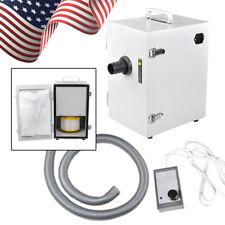 【USA】 Dental Lab Equipment Digital Single-Row Dust Collector Vacuum Cleaner CE