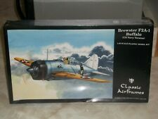 Classic Airframes 1/48 Brewster F2A-1 Buffalo (US Navy Version) - Factory Sealed