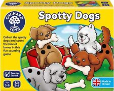 Orchard Toys SPOTTY DOGS Educational Game Puzzle BN