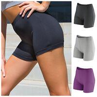 Womens Running Shorts Training Fitness Sports Gym Yoga Shorts Ladies Girls 6-18