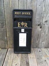 Britisch Royal Mail ER II schwarze Vorder