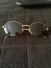 DKNY Mens Sun Glasses, Oval Half Frame, Retro, 20 Years Old, Vintage, VGC