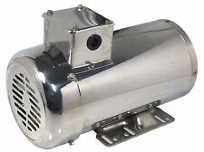 Gator Stainless Steel Picker Motor 3HP 1800RPM 145T Inverter TEFC 1 Yr Warranty