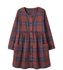 hanna andersson Girls Fannel Dress Size 4
