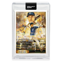 Topps PROJECT 2020 Card #82 1993 Derek Jeter RC by Andrew Thiele Print: /20,974