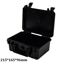 Waterproof Portable Hardware Tool Box Storage Hard Plastic Carry Case Outdoor