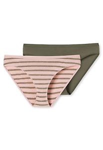 Schiesser Ladies Tai Briefs 2er-Pack Price Saving 36-44 S-XXL Underwear