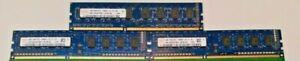 Hynix 6GB (3X2GB) 1Rx8 PC3 10600U HMT325U6CFR8C-H9 No AA