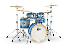 Gretsch Blue Silver Duco Drums Catalina Birch Shellpack Special Edition Drumset