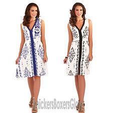 Viscose V-Neck Sleeveless Dresses Midi